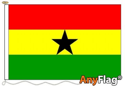 - GHANA ANYFLAG RANGE - VARIOUS SIZES